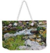 The Stream Weekender Tote Bag