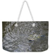 The Swimming Turtle Weekender Tote Bag