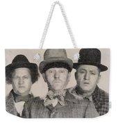 The Three Stooges Hollywood Legends Weekender Tote Bag