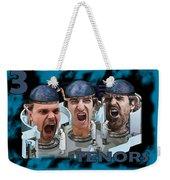 The Three Tenors Weekender Tote Bag