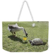 The Turtle And The Goose Weekender Tote Bag