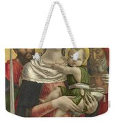 The Virgin And Child With Saints Paul And Jerome Weekender Tote Bag