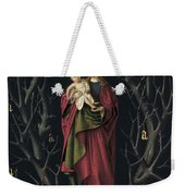 The Virgin Of The Dry Tree Weekender Tote Bag
