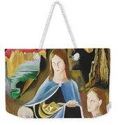 The Virgin Of The Rocks Weekender Tote Bag