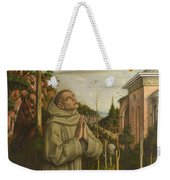 The Vision Of The Blessed Gabriele Weekender Tote Bag