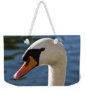 The Watchful Swan Weekender Tote Bag