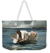 The Water Fan Weekender Tote Bag