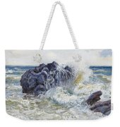 The Wave Weekender Tote Bag