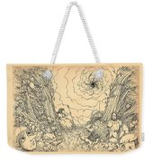 The Wave Of Time And Space Weekender Tote Bag