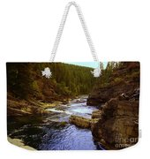 The Yak River Weekender Tote Bag