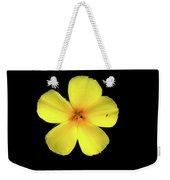 The Yellow Flower Weekender Tote Bag