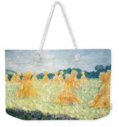 The Young Ladies Of Giverny, Sun Effect Weekender Tote Bag