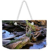 There Would Be No Forest... Weekender Tote Bag