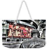 Thierry Henry Statue Emirates Stadium Art Weekender Tote Bag