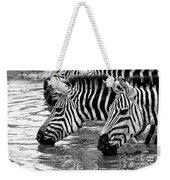 Thirsty Zebras Weekender Tote Bag