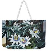 Thornton: Passion-flower Weekender Tote Bag