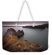 Three Cliffs Bay Gower Weekender Tote Bag