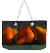 Three Golden Pears Weekender Tote Bag