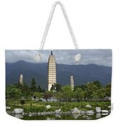 Three Pagodas Of Dali Weekender Tote Bag