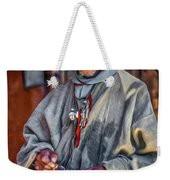 Tibetan Refugee - Paint Weekender Tote Bag