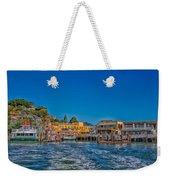 Tiburon Waterfront Weekender Tote Bag