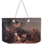 Tiepolo The Rape Of Europa Giovanni Battista Tiepolo Weekender Tote Bag
