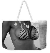 Tiger Strips Weekender Tote Bag