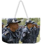 Tigres Commandos Stand In Formation Weekender Tote Bag