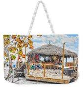 Tiki Bay Island  Weekender Tote Bag