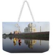 Timeless Taj Mahal Weekender Tote Bag