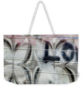Tiny Pink Butterfly Graffiti Weekender Tote Bag