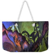 Tinzenhorn Zugen Gorge Near Monstein Weekender Tote Bag