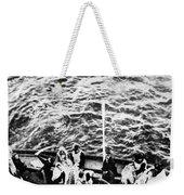 Titanic: Lifeboats, 1912 Weekender Tote Bag