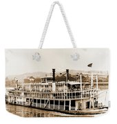 Tom Greene River Boat Weekender Tote Bag