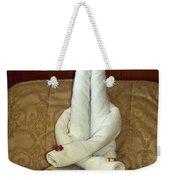 Towel Artistry Weekender Tote Bag