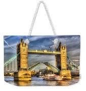 Tower Bridge And The Dixie Queen Weekender Tote Bag