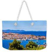 Town Of Primosten Panoramic View Weekender Tote Bag