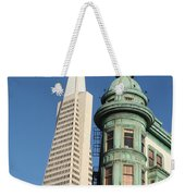 Transamerica Pyramid Building Weekender Tote Bag