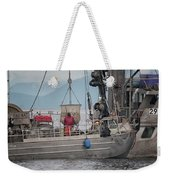 Transfer The Catch Weekender Tote Bag
