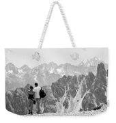 Trekking Together Weekender Tote Bag