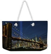 Tribute In Light # 1 Weekender Tote Bag