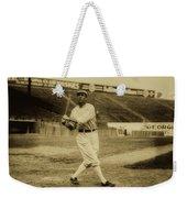 Tris Speaker With Boston Red Sox 1912 Weekender Tote Bag