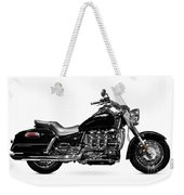Triumph Rocket IIi Motorcycle Weekender Tote Bag