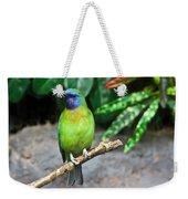 Tropical Bird Weekender Tote Bag