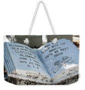 Tropical Cemetery Weekender Tote Bag