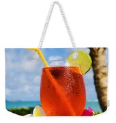 Tropical Cocktail Weekender Tote Bag
