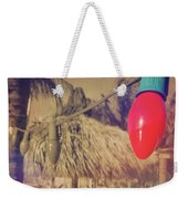 Tropical Holiday Weekender Tote Bag