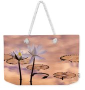 Tropical Lily Weekender Tote Bag