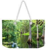 Tropical River 3 Weekender Tote Bag