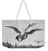 Trouv�s Ornithopter Weekender Tote Bag by Granger